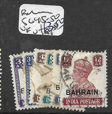 Bahrain  (Pp0902B) On  India Sg 45-50  Vfu