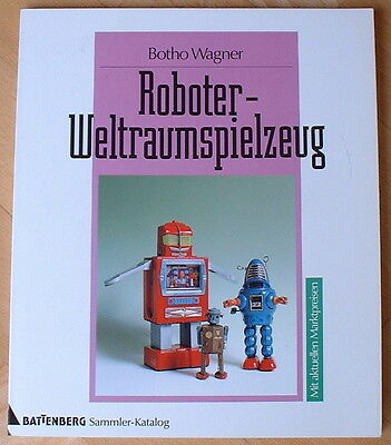 German Robot & Space Collectors Book Roboter & Weltraumspielzeug  Out Of Print