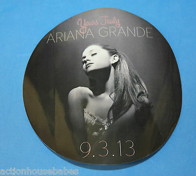 """Ariana Grande Yours Truly Debut Album 4"""" Sticker  - Brand New!"""