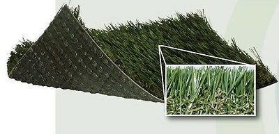 SYNTHETIC ARTIFICIAL PET LANDSCAPE GRASS TURF W/ 8 YR. WARRANTY 15'X45'x1 1/4""