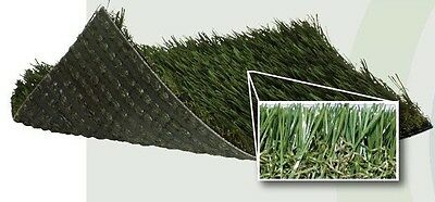 SYNTHETIC ARTIFICIAL PET LANDSCAPE GRASS TURF W/ 8 YR. WARRANTY 15'X40'x1 1/4""