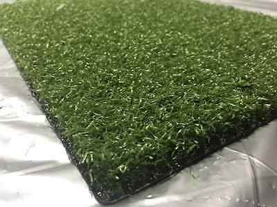 SYNTHETIC ARTIFICIAL GRASS TURF PATIO PUTTING GREEN ALL SPORTS 12'x10'x9/16""