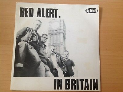 "Eighties Oi 7""single - Red Alert - In Britain - Oi5 (1982) P/S Excellent"