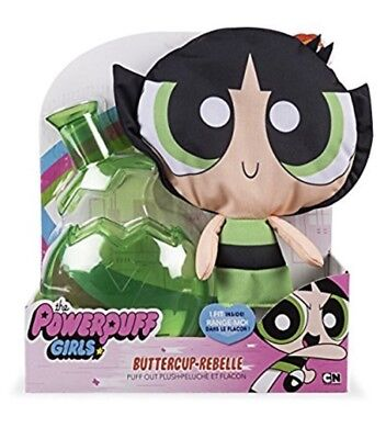BRAND NEW Cartoon Network The Powerpuff Girls Buttercup Puff Out Plush