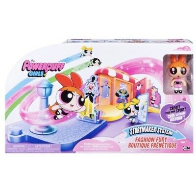 BRAND NEW Cartoon Network Powerpuff Girls Fashion Fury Boutique Story Maker
