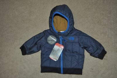 The North Face Infant Boys Reversible Yu Jacket Blue/Brown See Sizes NWT