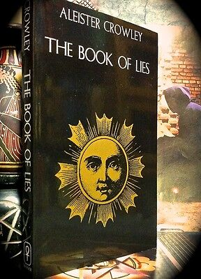 Aleister Crowley: The Book Of Lies ~ Trade Sc ~ New ~ Occult Magick O.t.o. Wicca