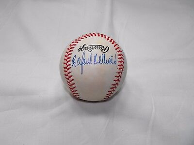 TWO Unknown Autographs on one ONL Baseball    #6