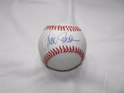 Unknown Autographs on a Bart Giamatti ONL Baseball    #7
