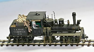 On30 Bachmann Spectrum T-Boiler Shay: Highly Detailed & Lettered
