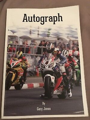 Isle Of Man TT Autograph Book Irish Road Racing Hand Signed By 17 Riders
