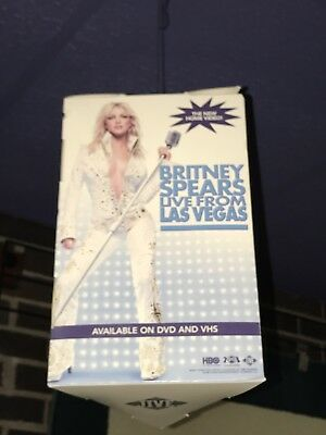 Britney Spears Record Store Promo Ceiling Hanger Standee New Old Stock 2001 Jive