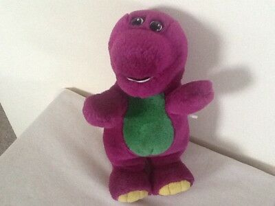 Vintage Wind Up Musical Barney from Playschool Soft Toy VGC