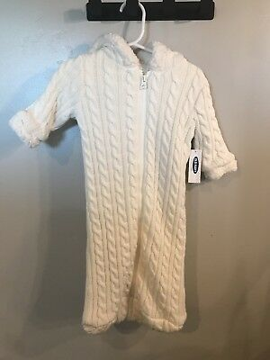 Baby Bundler, cable knit, 0-6 month