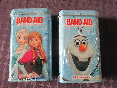 2 x Band-Aid Collector limited Edition Tin Brand NEW shrink wrap Disney Frozen