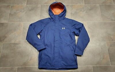 Ln Under Armour Ski Snow Coldgear Infrared Insulated Jacket Blue/purple Small