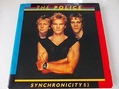 The Police - Synchronicity - Tour Programme 1983 - Sting - FREE POSTAGE!!!