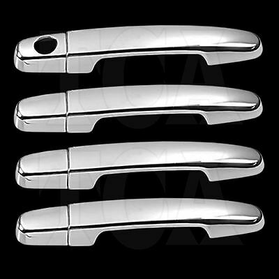 FOR TOYOTA HIGHLANDER 2001-2007 CHROME 4 DOOR HANDLE COVERS w/oPSKH 01 02 03-07