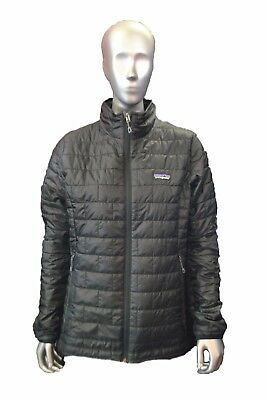 Patagonia Women's Nano Puff Jacket DWR Black NEW Version Sz XS-XL