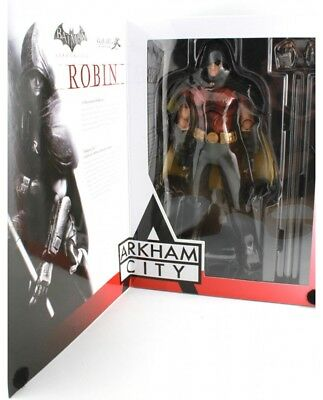 Batman ARKHAM CITY NO.03 ROBIN DC Comics Play Arts Kai Action Figure RARE