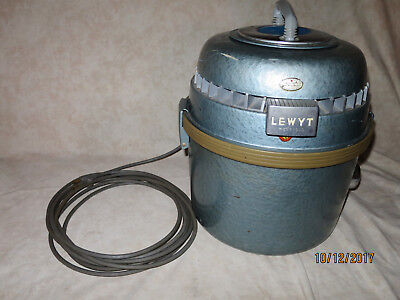 Vintage Lewyt Vacuum Cleaner Model 66 w Attachments ~Works!~