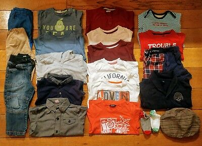 Beautiful Boys Bundle. 18-24 months. Autumn Winter. Gap H&M Lupilu. Jeans Shirt