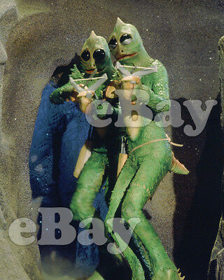 Rare! LAND OF THE LOST 8 X10 Color TV Photo SID & MARTY KROFFT Sleestak