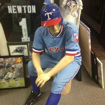 Ian Kinsler Game Used Uniform Throwback no helmet pants and jersey mlb holo