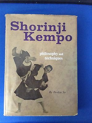 Shorinji Kempo  Philosophy and Techniques   by  Doshin So