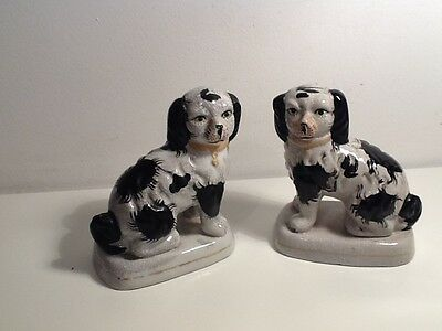 Vintage Pair of Fireside Dogs( small, unbranded)