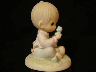 Precious Moments *RARE ERROR* I Believe In Miracles-$215V