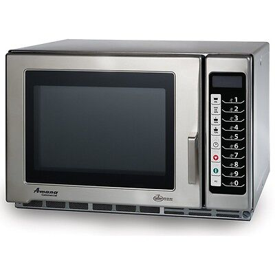 Microwave Oven, Amana Commercial, Countertop, 1800 Watts, Model RFS18TS