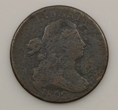 1802 Draped Bust Large Cent *854