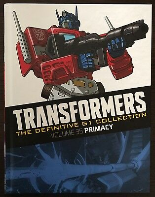 Transformers The Definitive G1 Collection Volume 35 Primacy