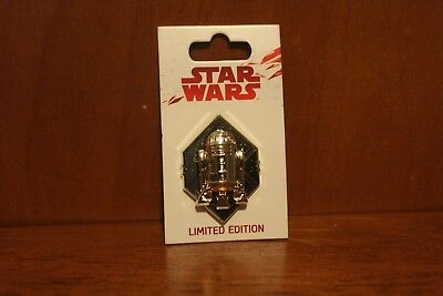 Disney Parks Star Wars The Last Jedi Force Friday Limited Edition R2-D2 Pin
