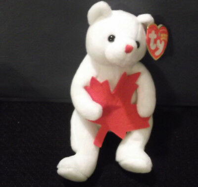 Northland COLLECTIBLE TY BEANIE BABY Bear NWT 2005 - Canadian Exclusive