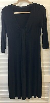 Black Gap Maternity / Nursing Dress S Small  v-neck