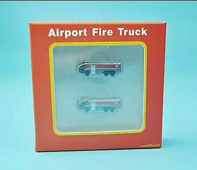 1/400 PandaModel Airport GSE sets Hong Kong (HKG) Int'l Airport Fire Truck