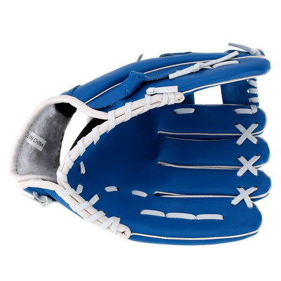 "Lixada 10.5"" Softball Baseball Glove Outdoor Team Sports Left Hand Blue"