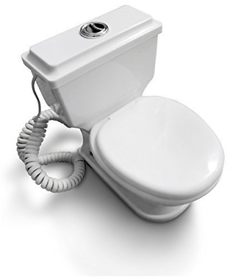 """Novelty """"Toilet"""" Design Corded / Wired Land Line Phone (non mains powered)"""
