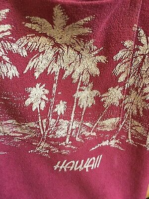 Vintage Hawaiian Polo Shirt