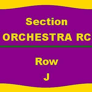 2 TICKETS 4/14/18 Love Never Dies Pantages Theatre - CA
