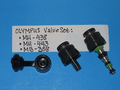 OLYMPUS MH-438, MH-433 & MB-358 Air/Water And Suction Valves