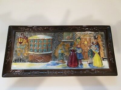 Rare Collectors Intl John Beswick LTD Royal Doulton HOLIDAY RECTANGULAR PLATE