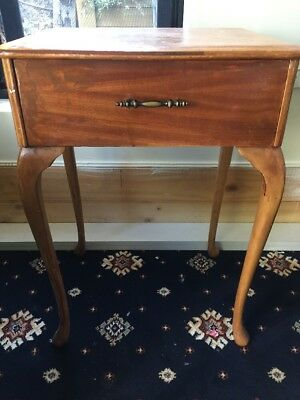 Queen Anne Bedside Table