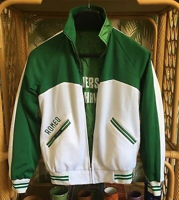 "Vintage ""Reversible"" University of Hawaii Bomber / Track Jacket"