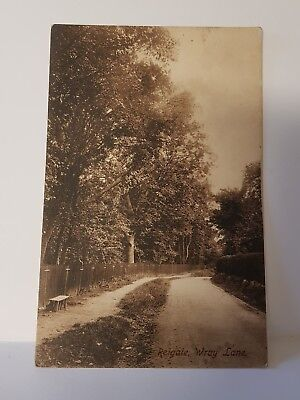 Wray Lane Reigate Surrey Reigate Frith's Post Card