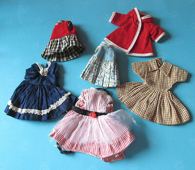 Vintage Smaller Doll Clothing Lot, For 5 to 8 inch Dolls