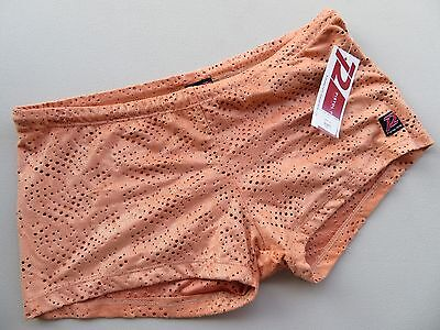 Pistol Pete Nylon Velvet Sparkly See Through Hot Stripper Pride Trunks  L (15)