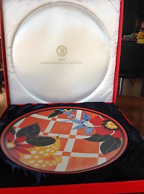 Limited Edition 'Blossom' Clarice Cliff Centenary Charger with Certificate.